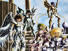 Death Metal: Comics, Arte y Sexo: Caballeros del Zodiaco [Saint Seiya][145/145]