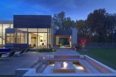 Modern Residence Ohio 7 Imposing Contemporary House in Ohio Exhibiting Surprising Design Ideas