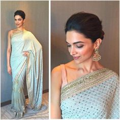 Buy Bollywood Sarees Online from Designers at Mirraw Shopping across India. We offer all type of Bollywood actress saree like kareena, deepika, sonakshi with worldwide delivery, hassle free returns Deepika Padukone Saree, Deepika In Saree, Deepika Padukone Hairstyles, Deepika Singh, Ranveer Singh, Aishwarya Rai, Bollywood Designer Sarees, Bollywood Fashion, Bollywood Sarees Online