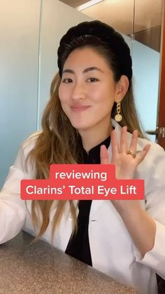 dr.zionko on Instagram: I had a chance to test out the new @clarinsusa Total Eye Lift and I approve. 👁 The best anti-aging advice I received from Korean mom was… Eye Lift, Best Anti Aging, Skincare, Audio, Korean, Advice, Good Things, Mom, Eyes