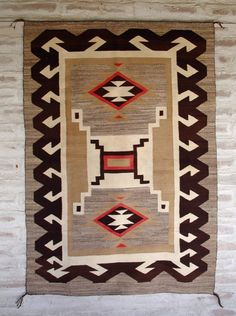 Storm Pattern Navajo Rug from the Navajo Weaving, Navajo Rugs, Native American Rugs, Navajo Nation, Saddle Blanket, Southwest Art, Indian Artist, Cozy Cabin, Native Indian