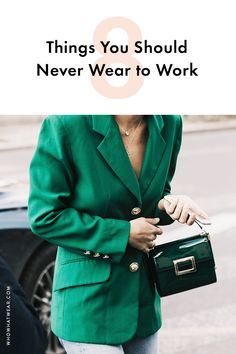 Got your first grown-up job? Here's what you should never wear to the office.