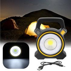 Objective 30w Usb Cob Led Portable Rechargeable Flood Light Spot Work Camping Outdoor Lamp Outdoor Sport Bikes Hiking Travel Lights P# Bicycle Light