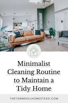 Minimalist Cleaning Routine to Maintain a Tidy Home