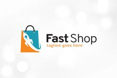 Fast Shop Logo Template by gunaonedesign on @creativemarket