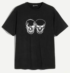 d669b50683d Camiseta de hombres con estampado de calavera
