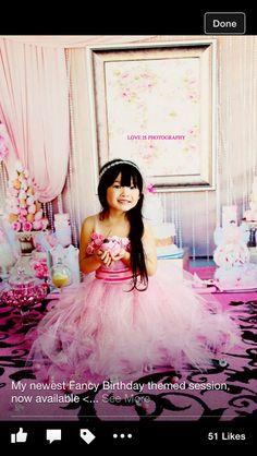 Princess pink bday