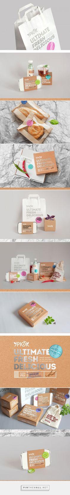 URYUK food delivery packaging design by Stas Neretin - http://www.packagingoftheworld.com/2017/04/uryuk.html