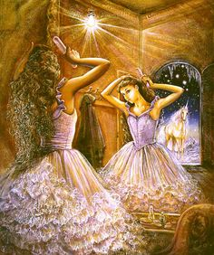 """Mirror"" par Josephine Wall"
