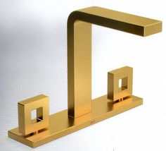 """Linha """"Dot"""" - acabamento Gold - Metais da Deca"""
