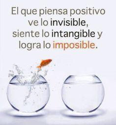Pensamiento Positivo!