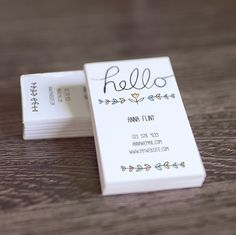 1676 best best business cards on pinterest images on pinterest diy printable calling card hello hand lettering pdf business card template or mommy card accmission Images