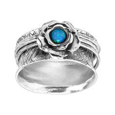 Azure Allure Ring