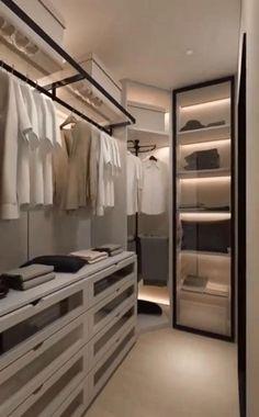 Wardrobe Interior Design, Wardrobe Door Designs, Wardrobe Design Bedroom, Room Design Bedroom, Bedroom Furniture Design, Closet Designs, Closet Bedroom, Walk In Wardrobe Design, Master Closet Design