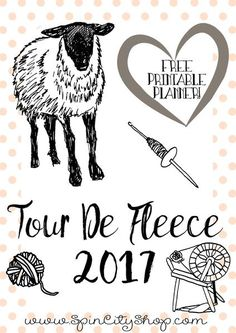 Tour De Fleece Downloadable Planner