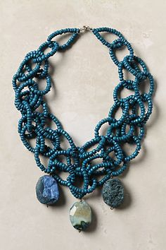 anthropologie beaded necklace #jewelry