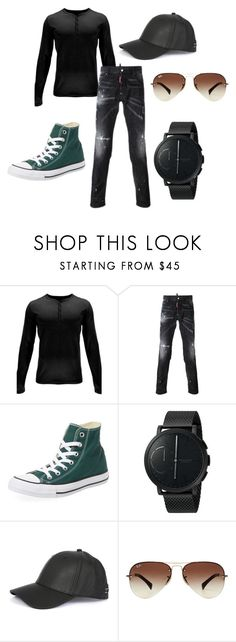 """#16 (Mens)"" by oregonpope on Polyvore featuring Spyder, Dsquared2, Converse, Skagen, rag & bone, Ray-Ban, men's fashion and menswear"