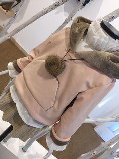 sudadera antelina  rosa forrada pelito Chula, Pink, Sweatshirt, Hair, Fall Winter 2015, Women