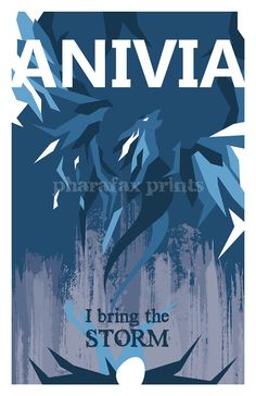 Anivia League of Legends Print by pharafax on Etsy, $16.00