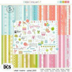 Le blog du forum DCS: Déjà Cinq anS ! - Les petites cartes