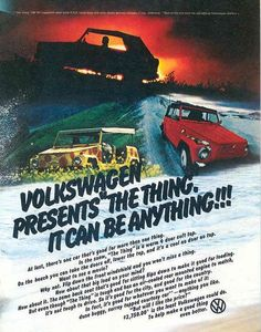 The Volkswagen Thing.. It can be anything