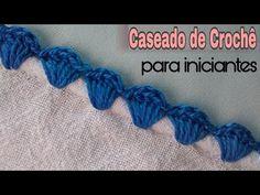 Crochet Edging Tutorial, Crochet Edging Patterns, Crochet Lace Edging, Crochet Borders, Crochet Flowers, Crochet Stitches, Crochet Crafts, Crochet Necklace, Embroidery