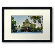 The Shamrock Hotel - Bendigo, Victoria Framed Print