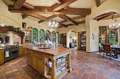 35 Luxury Mediterranean Kitchens (Design Ideas) - Designing Idea