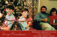 Funny Family Christmas Card - 44 Funny DIY Christmas Cards for Holiday Joy - Big DIY IDeas