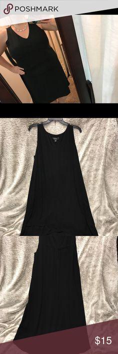 Karen Kane 2x Black Tank dress Karen Kane 2x Black Tank dress  used good condition Karen Kane Dresses High Low