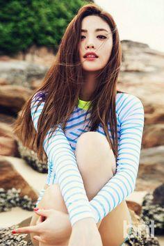 Nana των After School/Orange Caramel στο bnt International Ιουνίου 2015 Most Beautiful Faces, Beautiful People, Beautiful Flowers, Korean Beauty, Asian Beauty, Korean Girl, Asian Girl, Nana Afterschool, Im Jin Ah Nana