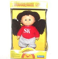 VINTAGE 1980s Sunshine Kid Doll, Playmates, Antique Alchemy