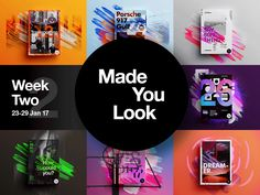 Made You Look Week 2 Collection by  StudioJQ  #Design Popular #Dribbble #shots