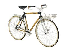 Marc Jacobs X Panda Bicycles Bamboo Bike. I bike you need to be stiff, strong and reliable made with compromised bamboo tubes...