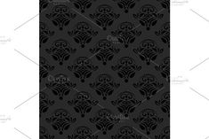 Oriental vector pattern with damask, arabesque and floral elements. Damask Patterns, Retro Graphic Design, Arabesque, Vector Pattern, Abstract Backgrounds, Oriental, Floral, Flowers, Flower
