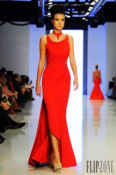 2016 gracefulside slit taffeta scoop floor-length celebrity dress