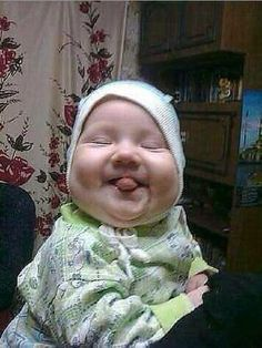 Funny Baby Photos, Funny Baby Faces, Cute Funny Babies, Cute Baby Pictures, Funny Kids, Cute Kids, Face Pictures, Cute Little Baby, Baby Kind