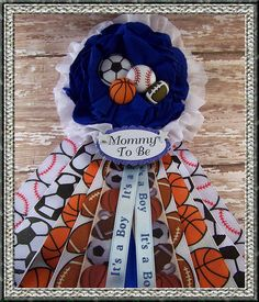 All Sports Mommy To Be All Sports Baby Shower by BloomingParty