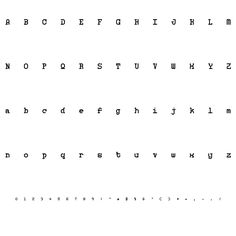 MONOSPHERE PERSONAL USE FONT