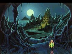 4 in the Chamber - King's Quest VI, The Land of the Dead.