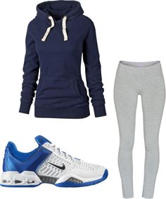 """Fall time work out clothes?"" by goob-bby on Polyvore"