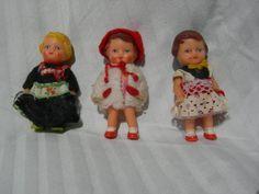 3 German Ari Dolls