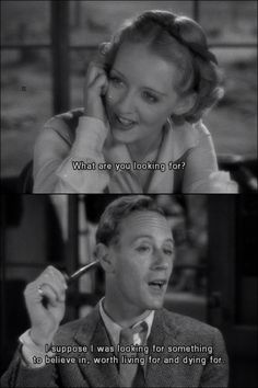 The Petrified Forest (1936) Bette Davis & Leslie Howard