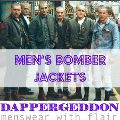 Men's Bomber Jackets - Dappergeddon Menswear with Flair