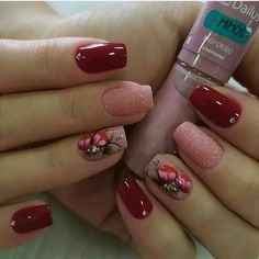 💅 Quer aprender fazer Alongamento de Unhas e aumentar sua renda ? ⠀⠀⠀⠀⠀⠀⠀⠀⠀⠀ ➡ Siga o nosso perfil @fazendo_unhas_perfeitas ⠀⠀⠀⠀⠀⠀⠀⠀⠀⠀ 📚… Red Nail Designs, Nail Polish Designs, Simple Nail Designs, Toe Nail Art, Acrylic Nails, Swag Nails, Pink Nails, Cute Nails, Pretty Nails