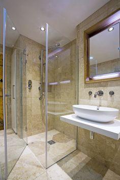 travatine shower