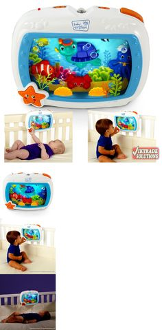 Crib Toys 100226: Baby Sea Dreams Soother Crib Mobile Music Night Light Aquarium Bedside Melodies -> BUY IT NOW ONLY: $58.25 on eBay!