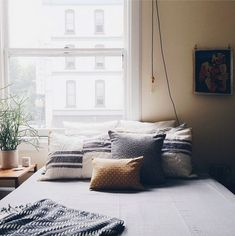hipster apartments - bedroom ideas