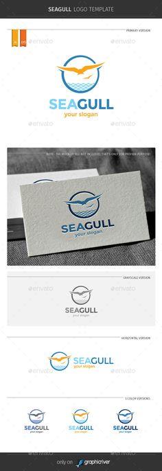 Seagull Logo Template - Symbols Logo Templates