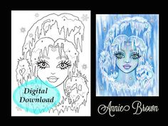 29 Best Snow Queen Coloring Pages Adult Coloring Book Images